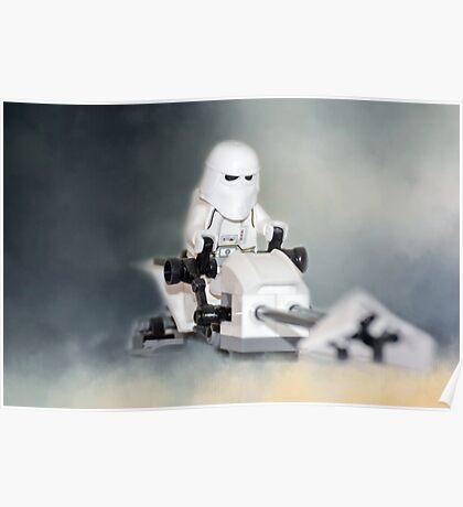 Star Wars Lego Stormtrooper Poster