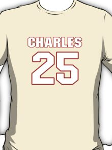 NFL Player Jamaal Charles twentyfive 25 T-Shirt