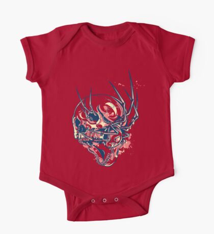 THE SPIDER AND THE SKULL One Piece - Short Sleeve