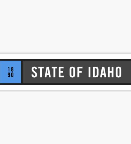 Idaho - Minimalist Sticker