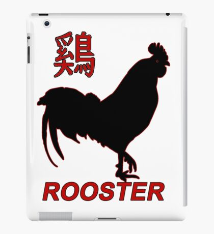 Year of the Rooster - Chinese New Year iPad Case/Skin