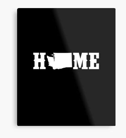 Washington Home State Metal Print