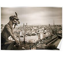 Gargoyles of Notre-Dame Poster