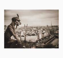 Gargoyles of Notre-Dame Kids Tee