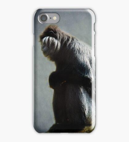 Monkey blues iPhone Case/Skin