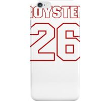 NFL Player Evan Royster twentysix 26 iPhone Case/Skin
