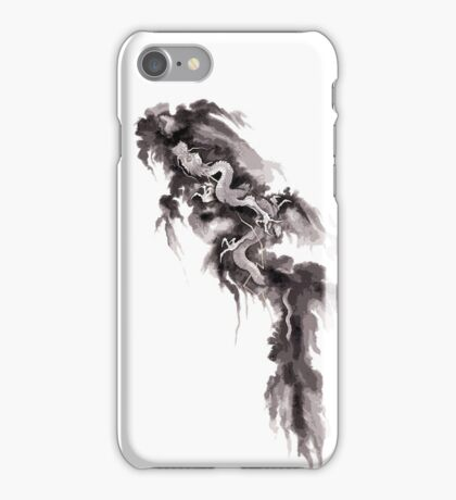 suzuki kiitsu Rising Dragon iPhone Case/Skin