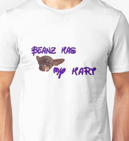 Beanz has my Hart Unisex T-Shirt