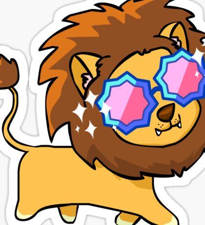 Fabulous Lion Sticker