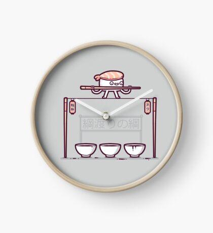 Sushi tightrope Clock