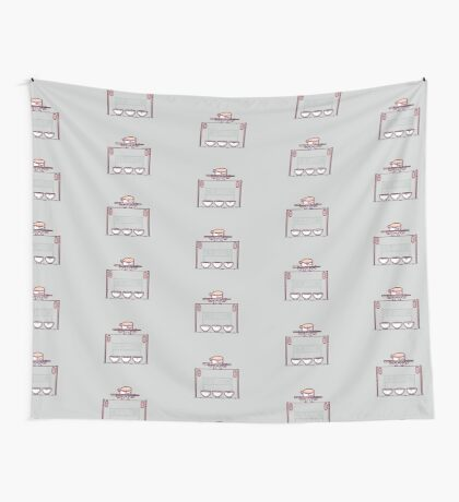 Sushi tightrope Wall Tapestry