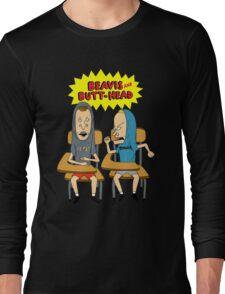 Beavis and butthead Long Sleeve T-Shirt