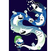 Luigi Zombies Photographic Print