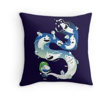 Luigi Zombies Throw Pillow