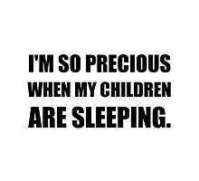 So Precious Children Sleeping Photographic Print