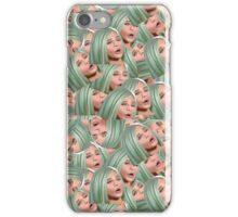 kylie silly face iPhone Case/Skin