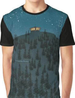 The Dharma Bums - Jack Kerouac Graphic T-Shirt