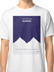 No158 My SCARFACE minimal movie poster Classic T-Shirt