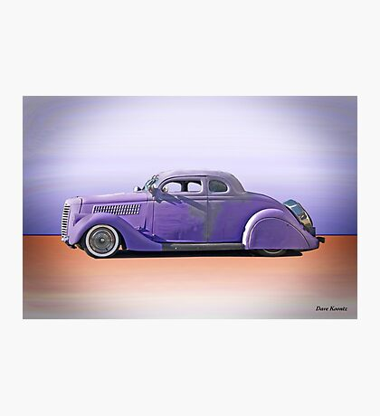 1936 Ford 'Tail Dragger' Custom Coupe Photographic Print