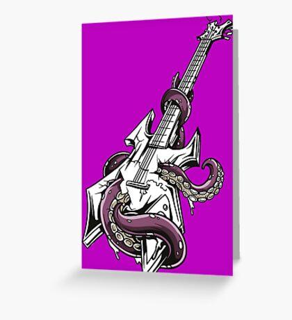 ROCK OCTOPUS Greeting Card