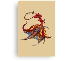 Octomaid Vampire Squid Girl MONSTER GIRLS Series I Canvas Print