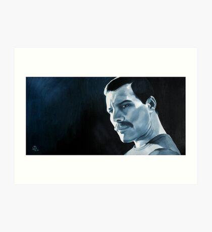 Freddie Mercury - oil painting Art Print