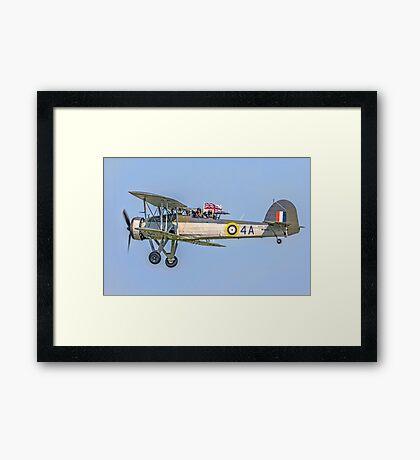 Fairey Swordfish II W5856 G-BMGC Framed Print
