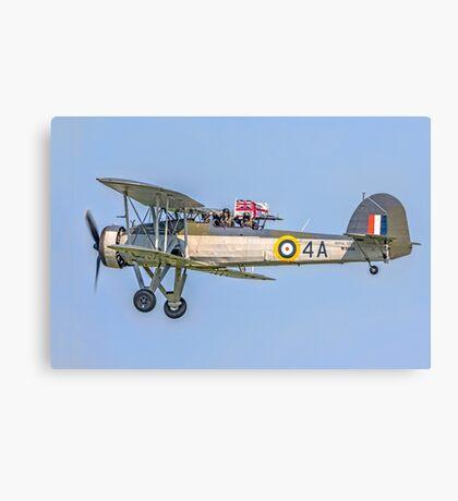 Fairey Swordfish II W5856 G-BMGC Canvas Print