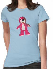Pink Teddy Bear Breaking Bad Womens Fitted T-Shirt