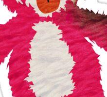 Pink Teddy Bear Breaking Bad Sticker