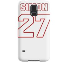 NFL Player Tharold Simon twentyseven 27 Samsung Galaxy Case/Skin