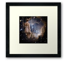 Watching The Universe Framed Print