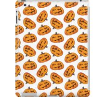 Spooky Halloween Pumpkin Pattern iPad Case/Skin