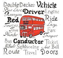 Double Decker Bus Design by DebbieSheldon