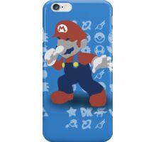 Smash 4 - Mario iPhone Case/Skin