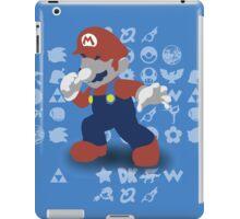 Smash 4 - Mario iPad Case/Skin