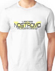 Nostromo Flightcrew dark m. WY Logo Unisex T-Shirt