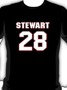 NFL Player Jonathan Stewart twentyeight 28 T-Shirt