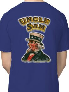 UNCLE SAM, Vintage, Advertising Image, America, American, USA, US Classic T-Shirt