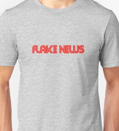 flake news Unisex T-Shirt