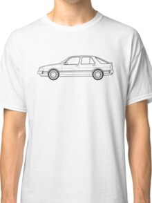 Saab 9000 outline drawing Classic T-Shirt