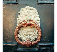 Ancient Door Handle Doorknob Photographic Print