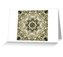 SYMMETRY - ELEMENTS Greeting Card