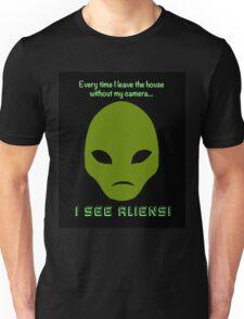 I See Aliens! Unisex T-Shirt