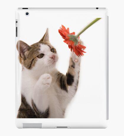 Kitten playing iPad Case/Skin