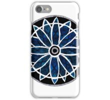 mandala coloured in with watercolours iPhone Case/Skin