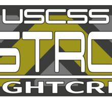 Nostromo Flightcrew white m. WY Logo Sticker