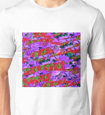 Abstract Flower Design Unisex T-Shirt