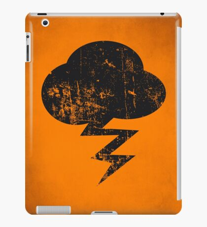 Cloud and storm iPad Case/Skin