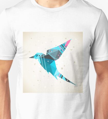 Bird abstraction Unisex T-Shirt